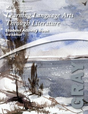 Learning Language Arts Through Literature, Grade 8, Student  Activity Book (Gray; 3rd Edition)  -