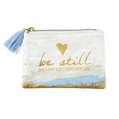 Be Still Coin Purse  -