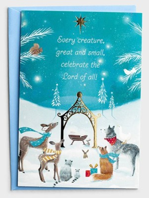 Every Creature Christmas Cards, Box of 18  -