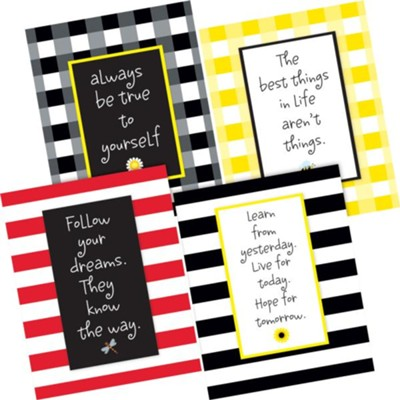 Be True to Yourself Art Prints (Set of 4)   -