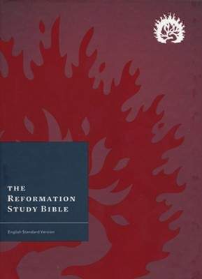 ESV Reformation Study Bible, 2015 Edition, Hardcover, Crimson   -     By: R.C. Sproul
