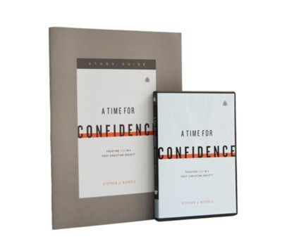 A Time for Confidence, Study Pack (DVD/Study Guide)   -     By: Stephen J. Nichols