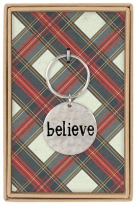 Believe Boxed Keychain  -
