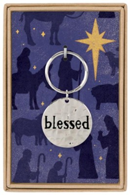 Blessed Boxed Keychain  -
