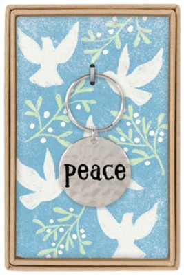 Peace Boxed Keychain  -