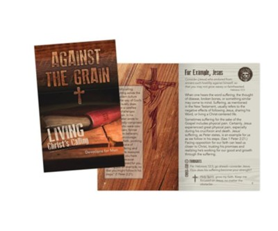 Against the Grain Devotions for Men  -