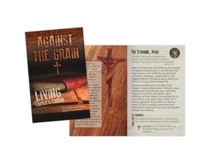 Against the Grain Devotions for Men, KJV  -