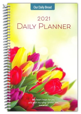 2021 Our Daily Bread Daily Planner  -     By: Our Daily Bread