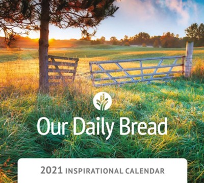 2021 Our Daily Bread Wall Calendar  -     By: Our Daily Bread