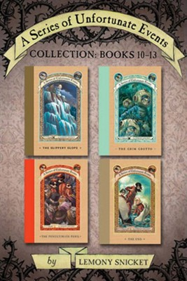 A Series of Unfortunate Events Collection: Books 10-13 - eBook  -     By: Lemony Snicket     Illustrated By: Brett Helquist