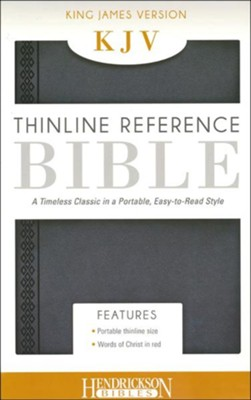 KJV Thinline Flexi Steel  - Slightly Imperfect  -