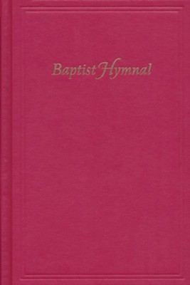 Baptist Hymnal--hardcover, brick Red  -
