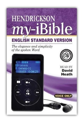 My-iBible, ESV, Voice-Only Digital Bible Player  -     Narrated By: David Heath