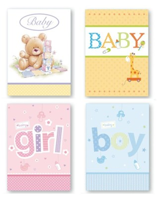 New Baby Cards, Box of 12  -