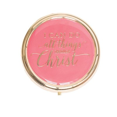 I Can Do all Things Through Christ, Pill Box  -