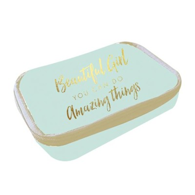 Beautiful Girl You Can Do Amazing Things, Pill Box  -