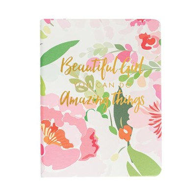 Beautiful Girl You Can Do Amazing Things, Journal  -