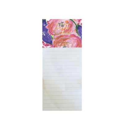 Keep Your Face Always Toward the Sunshine, Magnetic Notepad  -