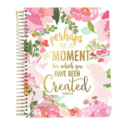 2019 Esther 4:14, 18 Month Planner, Small  -