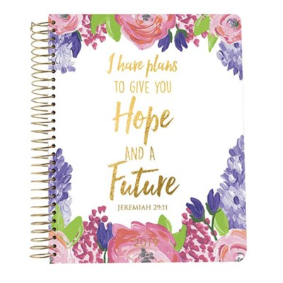2019 Jeremiah 29:11, 18 Month Planner, Small  -