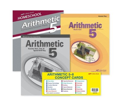 Abeka Grade 5 Arithmetic Parent Kit   -