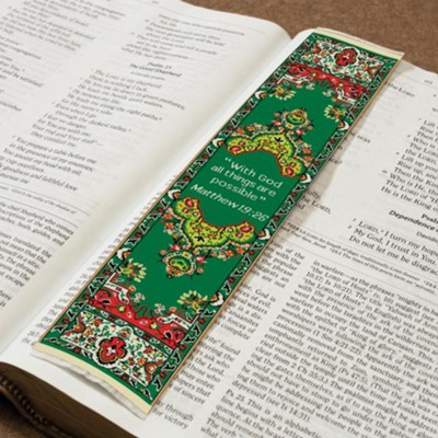 All Things Possible, Carpet Bookmark  -