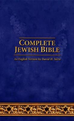 Complete Jewish Bible: 2017 Updated Edition, Navy Blue Imitation Leather  -     By: David H. Stern