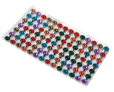 Adhesive Gems, sheet of 98   -