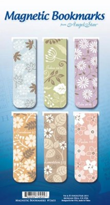 Be Still and Know, Assorted Magnetic Bookmarks, Set of 6  -