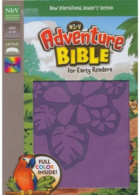 NirV Adventure Bible for Early Readers, Italian Duo-Tone, Tropical Purple  -     By: Lawrence O. Richards