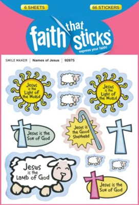 Names of Jesus Stickers  -