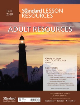 Standard Lesson Resources: Adult Resources, Fall 2018  -
