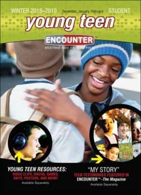 Encounter: Young Teen Student, Winter 2018-19  -