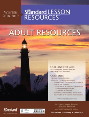 Standard Lesson Resources: Adult Resources, Winter 2018-19  -