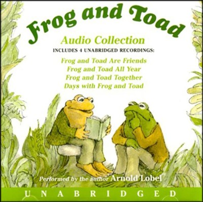 Frog and Toad, Audio Collection, 4 Unabridged   Recordings, Preformed by Arnold Lobel, 90 Minutes,2 CDs  -     Narrated By: Arnold Lobel     By: Arnold Lobel