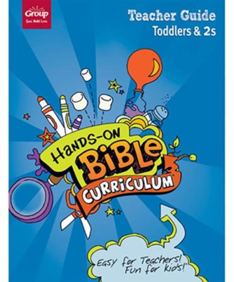 Hands-On Bible Curriculum: Toddlers & 2s Teacher Guide, Winter 2018  -
