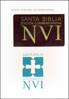 NVI Santa Biblia Edicion Conmemorativa (Holy Bible Commemorative Edition)                       -