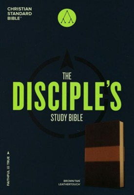CSB Disciple's Study Bible, Brown and Tan LeatherTouch  -     By: Robby Gallaty