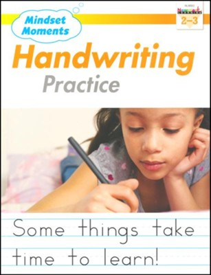 Mindset Moments: Handwriting Practice, Grades 2-3  -