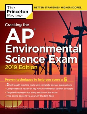 Cracking The Ap Environmental Science Exam 2019 Edition Princeton