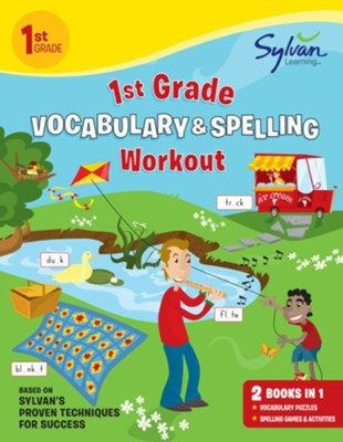 1st Grade Vocabulary & Spelling Workout  -     By: Sylvan Learning