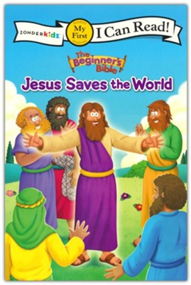 The Beginner's Bible Jesus Saves the World  -