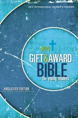 Nirv, Gift and Award Bible for Young Readers, Anglicised Edition, Softcover, Blue  -     By: Zondervan Zondervan