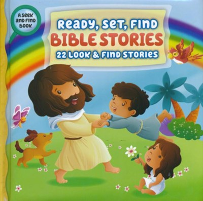 Ready, Set, Find Bible Stories  -