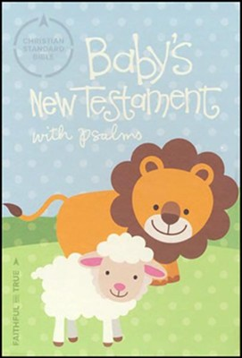 CSB Baby's New Testament with Psalms, Pink Imitation Leather  -