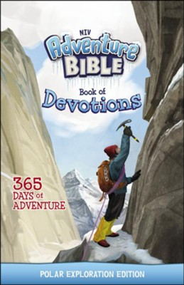 NIV Adventure Bible Book of Devotions: Polar Exploration Edition  -