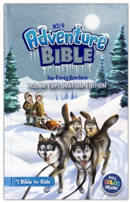 NIrV Adventure Bible for Early Readers, Polar Exploration Edition, Hardcover  -     By: Zondervan