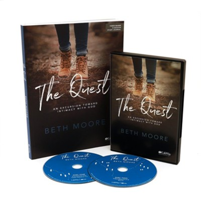 The Quest: An Excursion Toward Intimacy with God, DVD Leader Kit  -     By: Beth Moore