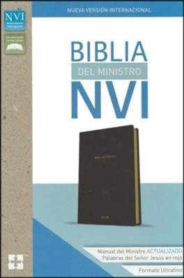 Matrimonio Biblia Paralela : Biblia del ministro ultrafina nvi piel imit. negra nvi ultrathin