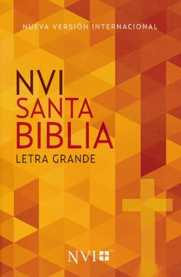 NVI Holy Bible, Large-Print--Economy Edition  -